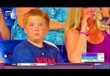 Jake Arrieta完敗給用演技對決攝影機的雀斑小胖子