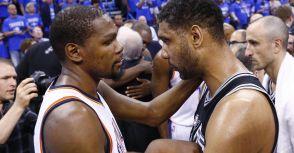 Durant的離開,憶起Duncan的留下