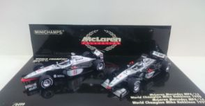 Mika Hakkinen World Champion Car (MP4-13 & MP4-14)