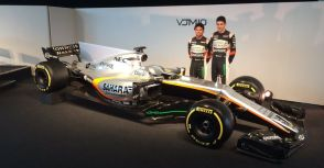 【F1】今年的目標是衝擊前三名!Force India車隊年度戰車VJM10登場!