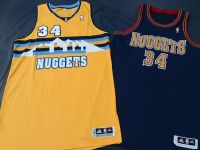 #34 JaVale McGee 2013/14 Nuggets ALT. & HWC Game/Team Issued Jersey