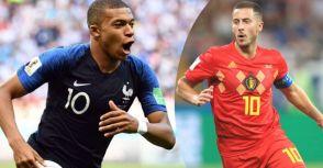 世界盃四強戰預測+盤路分析  法國VS比利時