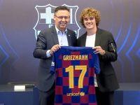 格列茲曼1.2億歐元加盟巴塞隆納-也許會變2億歐元??
