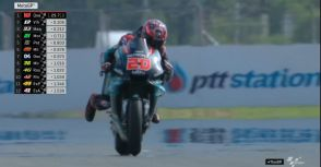 【MotoGP】Rd.15泰國GP排位賽:Quartararo搶下竿位  Marquez取得封王有利位置