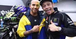 【MotoGP】傳Rossi和Hamilton要互換體驗對方的比賽用車