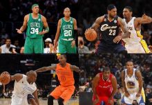 NBA Christmas Day Jerseys (2008/09 ~ 2012/13)