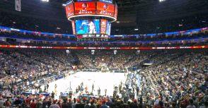 2012 NBA上海賽現場觀戰