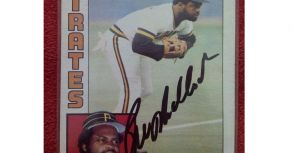 La New熊 梅洛克 Bill Madlock MLB球員卡
