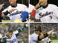 Alex Ramirez引退儀式 用招牌動作向球迷們告別