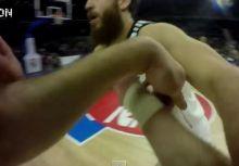 籃球轉播史新頁  球員首度在正式比賽穿上內建攝影機