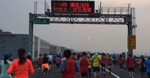 2015台北國道馬拉松。半馬