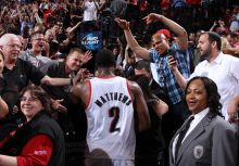 Matthews:Thank You, Rip City