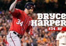 「噓聲讓我更強」-Bryce Harper