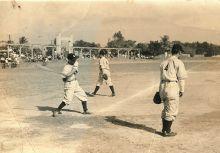 1951年第一代台灣棒球聯隊教練---李詩計