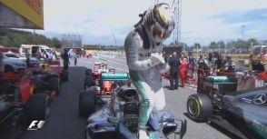 【F1】Rd.05西班牙站排位賽:HE'S BACK. Hamilton奪竿位!
