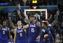 2016奧運:美國驚險五連勝,挺進複賽