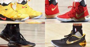 【SW維達之NBA實著鞋款】2016-17 NBA 總冠軍賽Game 4 場上實著鞋款
