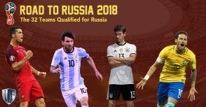 【2018年俄羅斯世界盃】三十二強如何產生?