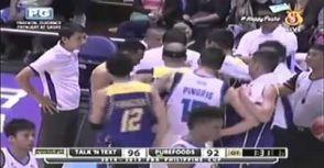 菲律賓國手Marc Pingris暫停混進對手陣營偷看戰術