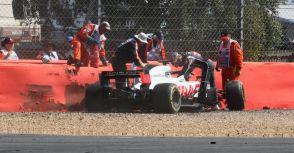 【F1】Rd.10英國GP回顧:兩位車手在DRS彎道區失控撞牆,FIA:這是車手們的決定
