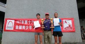 筑波木笑盃A級》16歲李羽芸雙冠王頭銜 14歲男子藍尹志、賴禹舜爭雙料冠軍