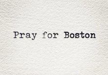 慢跑日記 14 Pray for Boston
