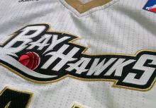 #44 Jerome Jordan 2011/12 Erie Bayhawks White Game Worn Jersey