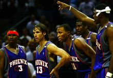 太陽、Mike D'Antoni、Steve Nash-改變了籃球進攻思維(上)