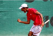 14歲的網球大物,來自加拿大的FELIX AUGER ALIASSIME(2016新科美網青少年男單冠軍)