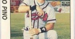 中華職棒史上第一位來自古巴的洋將 統一獅 皮諾( Rolando Pino)球員卡