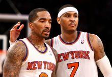 [打出來的友誼] J.R. Smith說至今Carmelo Anthony一直在鼓勵他