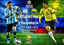 [賽前報導] - 阿根廷vs哥倫比亞