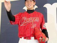 [央聯訊息] 赤紅+直條紋~ 廣島東洋鯉魚「常昇魂」特別款球衣發表