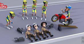 「單車賽事」環西巡迴裁判接連出包!Tinkoff-Saxo揚言退賽!