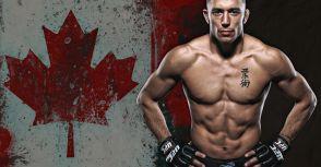 前UFC次中量級冠軍George St Pierre進入六星期的訓練營