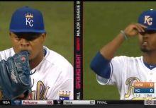 開季沒進入狀況?Volquez 戴錯帽 Cespedes晃神球彈出手套