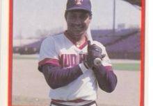 中華職棒元年擊出最多三壘安打的外籍球員 帝波 、王中波 (Fredrick Tiburcio) 球員卡