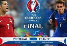 歐洲國家盃決賽:法國 v.s 葡萄牙