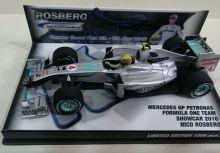 W01 Nico Rosberg Showcar