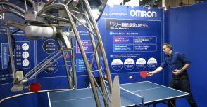 桌球訓練新紀元,一位名叫Robot的對手!