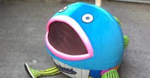 意外的有人氣,戰績低迷的羅德推出了新吉祥物「謎之魚」