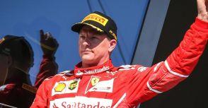 【F1】車手市場動態:One More Year,Ferrari車隊與「冰人」Raikkonen續約一年