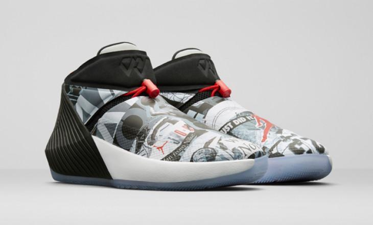 Russell Westbrook 第一雙場上簽名鞋 Jordan WHY NOT ZER0.1