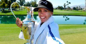 鄰家女孩Lindberg 未來高爾夫球迷需要記住的名字