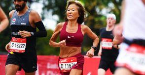70歲阿嬤Jeannie Rice創馬拉松新紀錄 寫下不老跑者傳奇