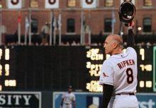 "#8 Calvin Edwin ""Cal"" Ripken Jr. Baltimore Orioles ALT. Black AU Jersey"