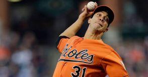 來看 Ubaldo Jiménez 精彩表現後,MLB 官網下的標題!