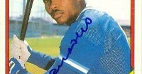 中華職棒職棒史上首次單一球員擔任全季第四棒100場紀錄的洋將 坎沙諾(Sil Campusano)簽名球員卡