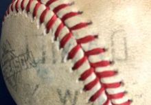 Daniel Murphy 砲擊書僮  名字還印在球上!
