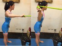 「游泳陸上訓練」-上肢肌力